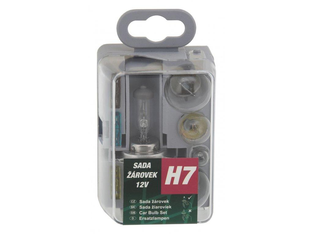 Compass Žárovky servisní box univerzální H7 GREEN