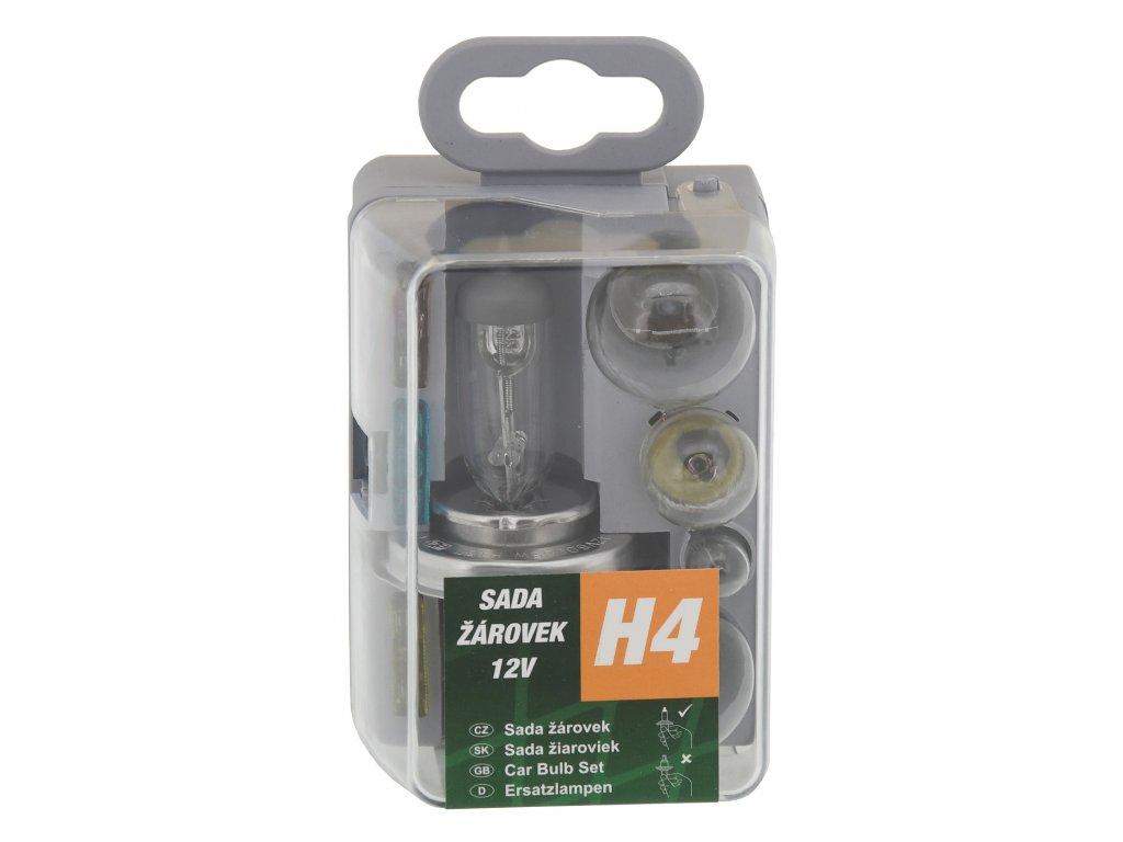 Compass Žárovky servisní box univerzální H4 GREEN