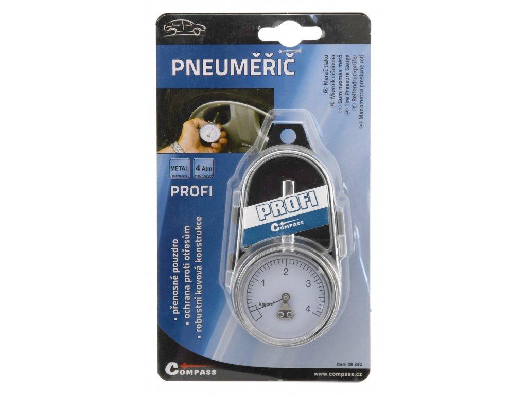 Compass Pneuměřič PROFI 4kg/cm2