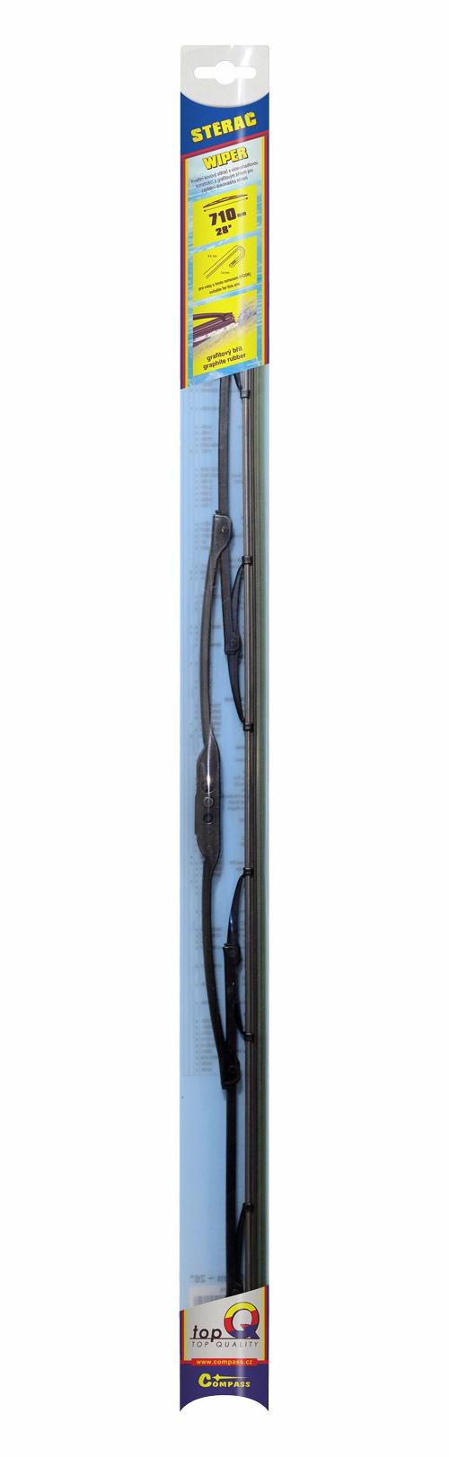 Compass Stěrač kovový TOPQ 710 mm GRAFIT