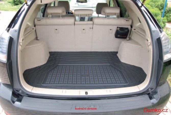 Gumárny Zubří Gumový koberec do kufru Mercedes CLK