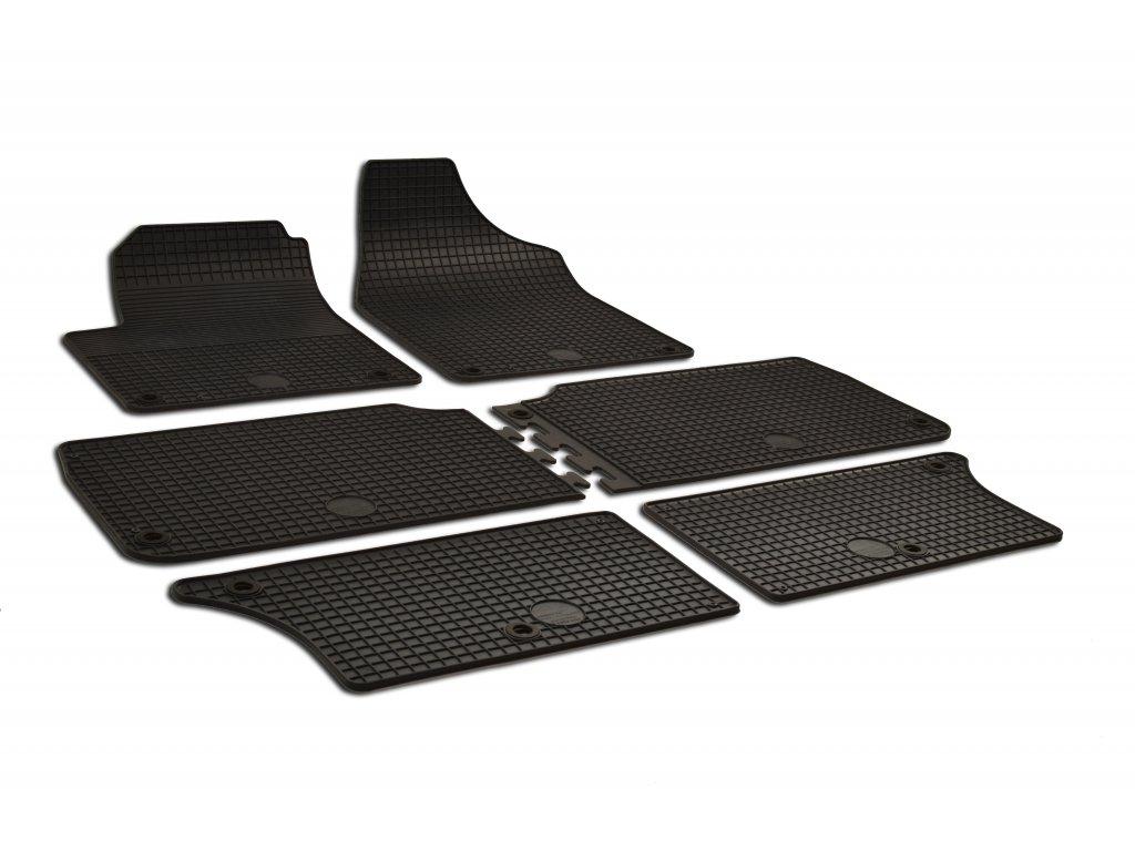 Gumárny Zubří Gumové autokoberce Seat ALHAMBRA (1996-2009) - 6 dílů Fixace: S kulatou fixací