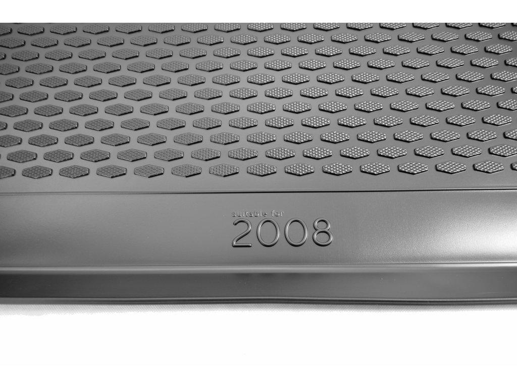 Gumárny Zubří Plastová vana do kufru Peugeot 2008 2014-