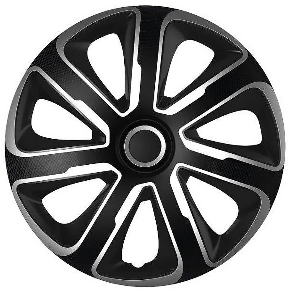 """Compass Kryty kol 14"""" LIVORNO Carbon (sada) silver/black"""
