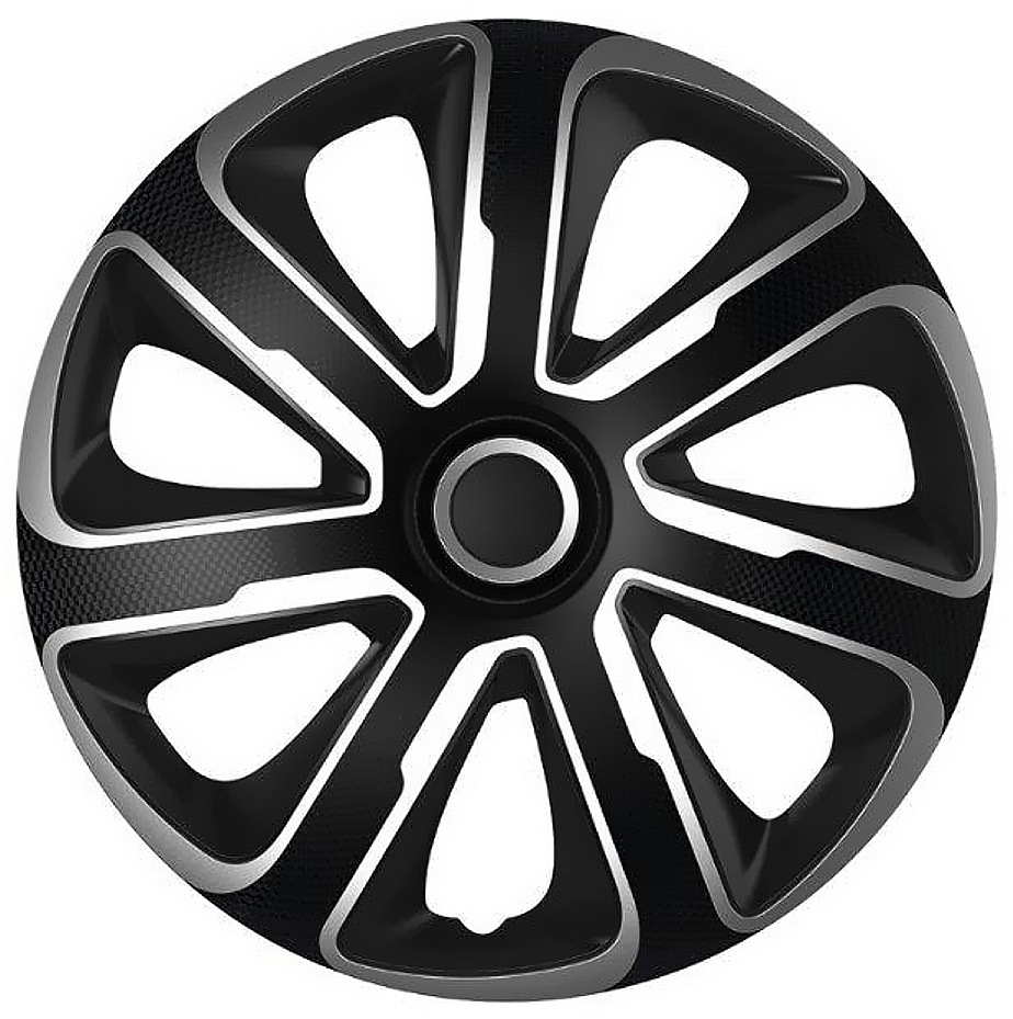 """Compass Kryty kol 15"""" LIVORNO Carbon (sada) silver/black"""