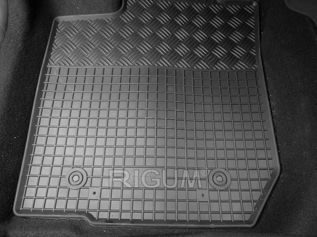 Rigum Gumové koberce Dacia LOGAN 5m 2013-