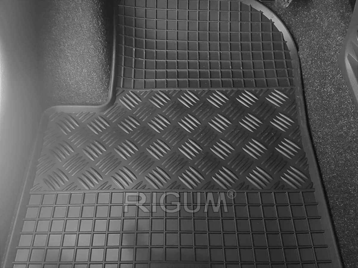 Rigum Gumové koberce Fiat 500 2008-