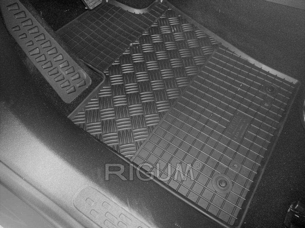 Rigum Gumové koberce Fiat 500X 2015-