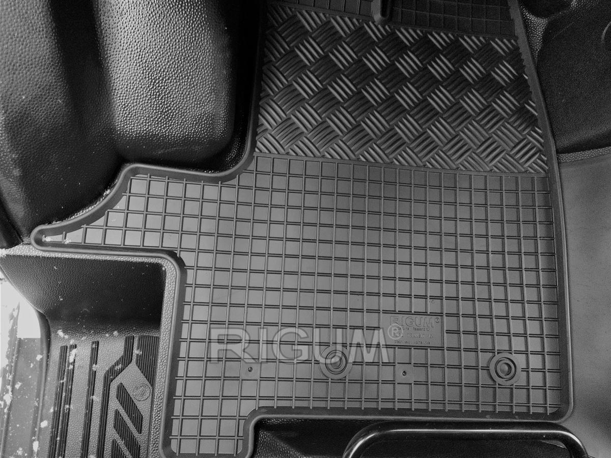 Rigum Gumové koberce Ford TRANSIT 3m 2015-
