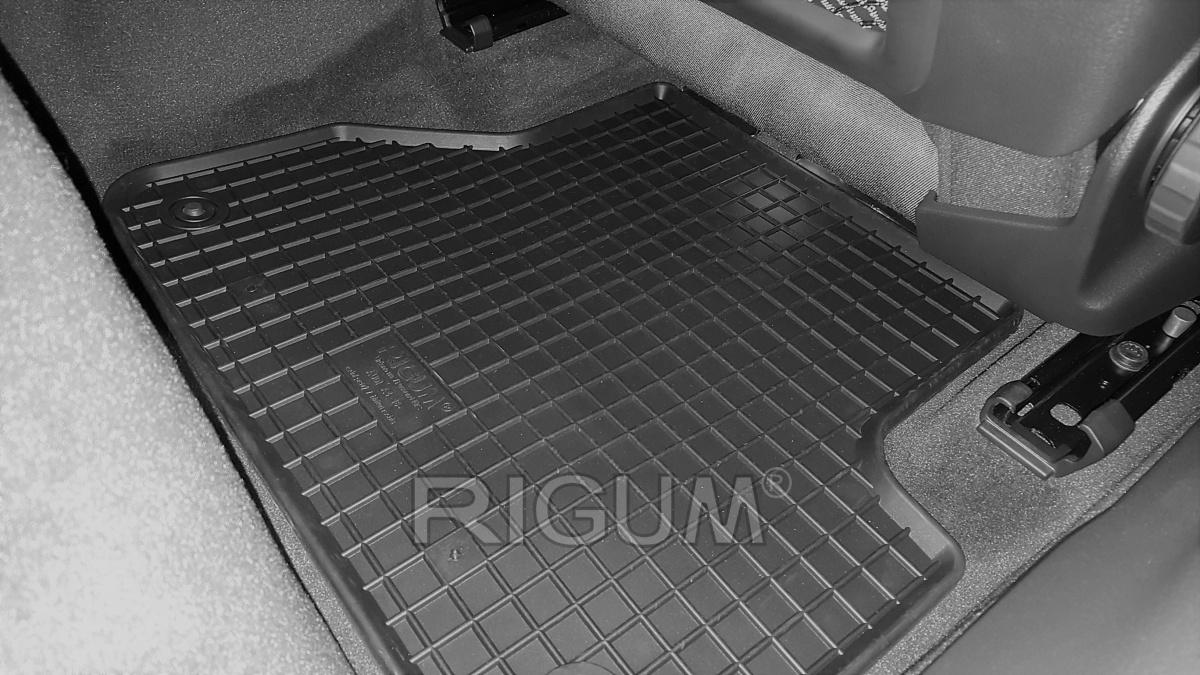 Rigum Gumové koberce Audi A4 2016-