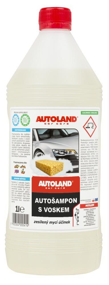 Autoland Autošampon s voskem 1L