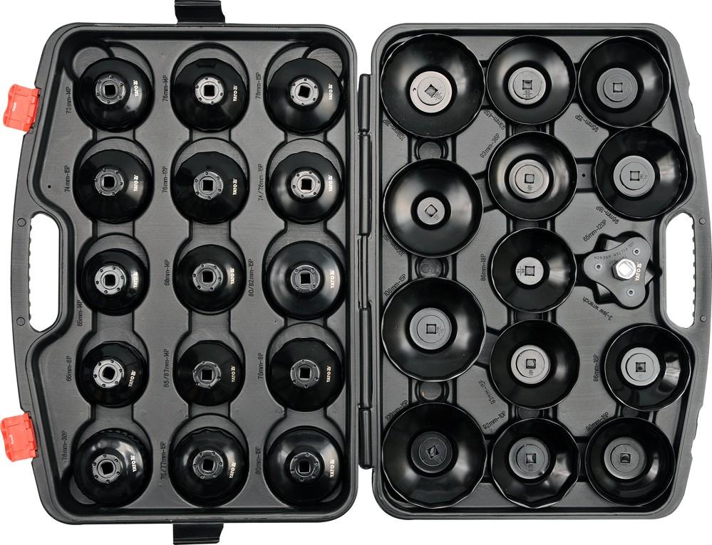 YATO Sada klíčů miskových na olejové filtry 30 ks