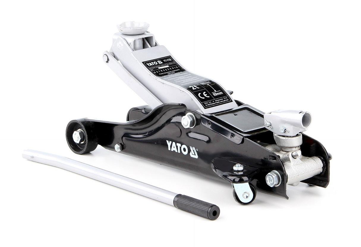 YATO Hever pojízdný hydraulický - nízkoprofilový 2,0T 89-359 mm