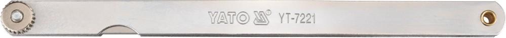YATO Měrka na spáry 200 x 12,8 mm 17 ks