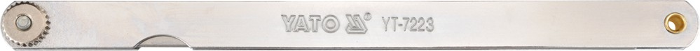 YATO Měrka na spáry 200 x 12,8 mm 14 ks