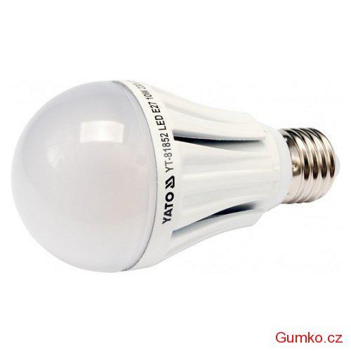 YATO LED žárovka 10W E27 720 lumen 230V ( 60W )