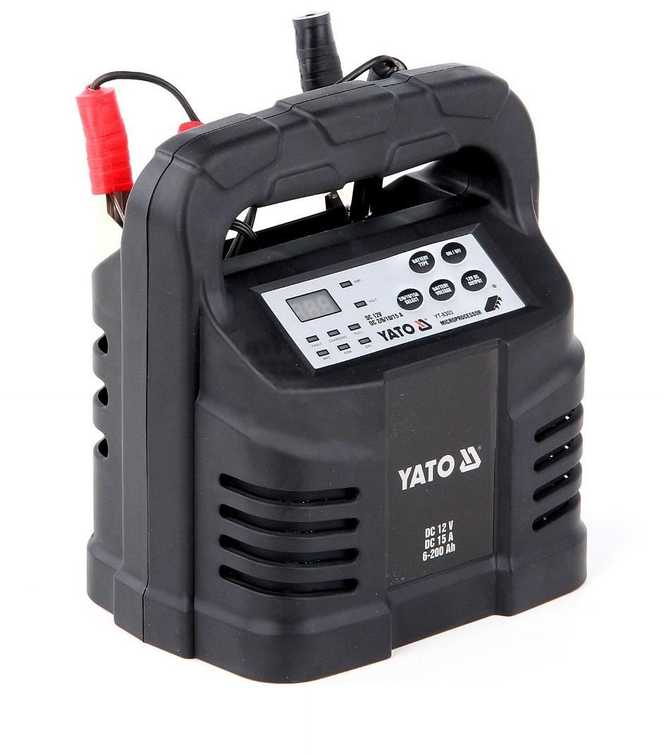 YATO Nabíječka 15A 12V gel/procesor