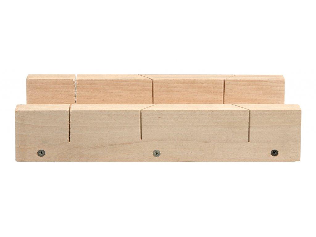 Vorel Přípravek na řezání úhlů 300 x 80 mm dřevěný