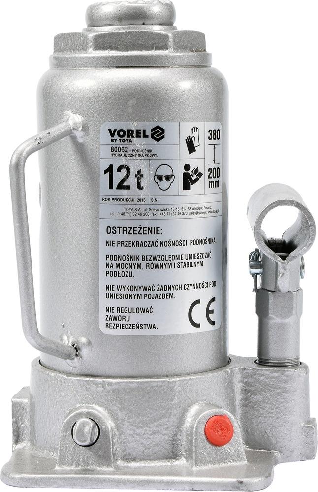 Vorel Hever hydraulický pístový 12t
