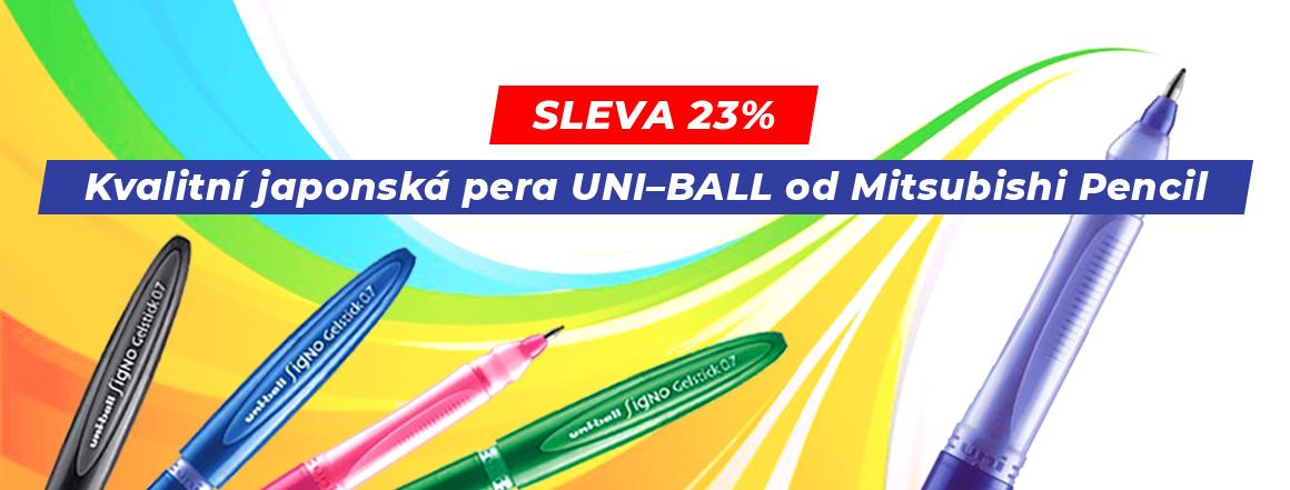 Gelová pera Uni-Ball