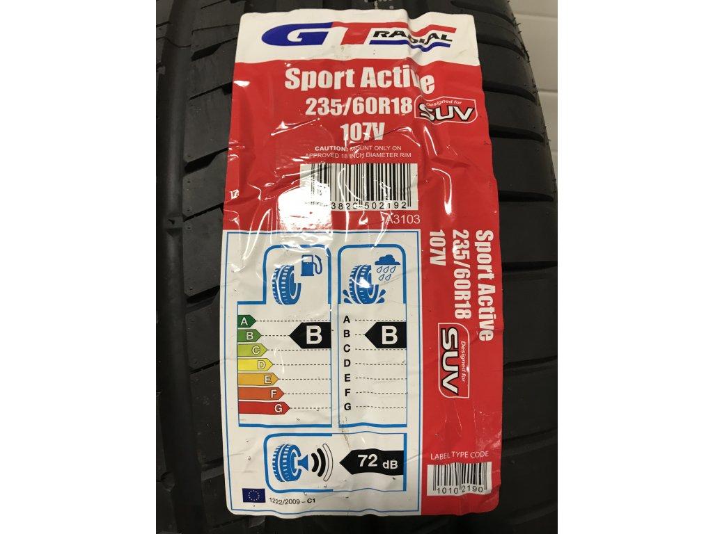 GT-Radial SportActive SUV 235/60 R18 107V