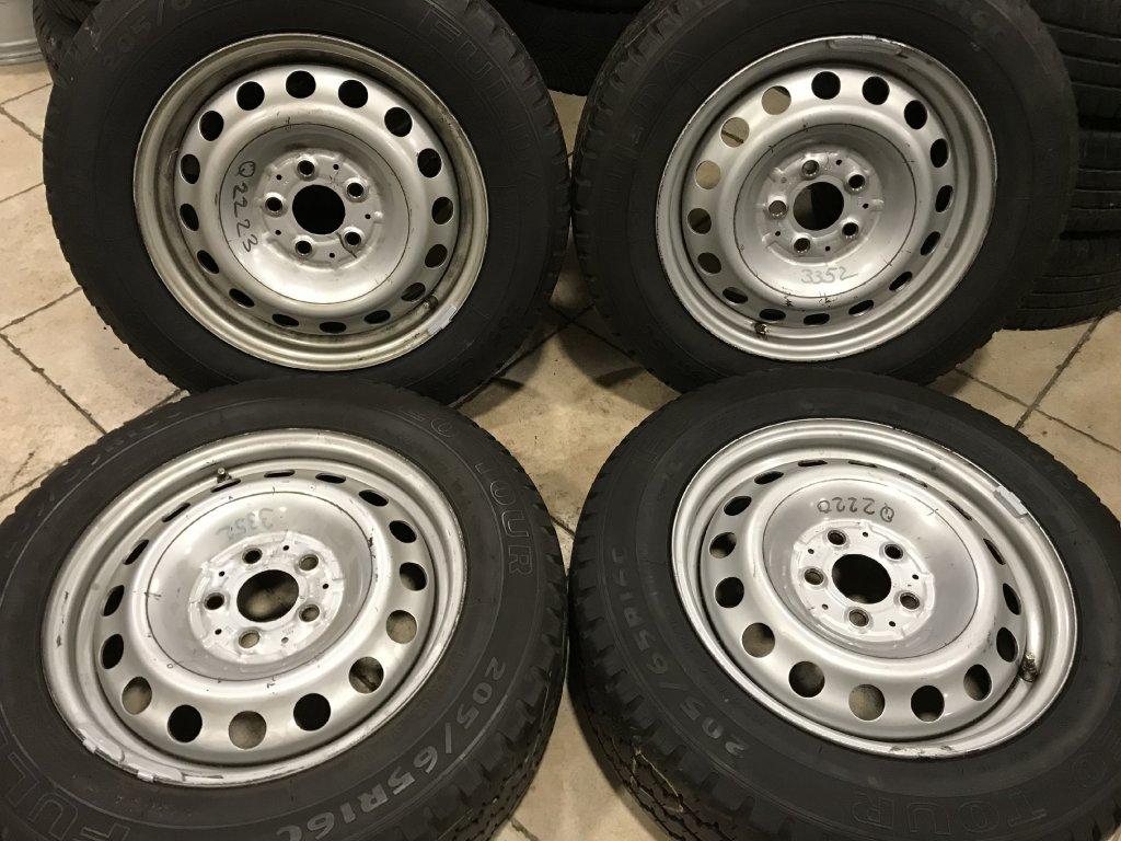 Letní sada 5x112 original Mercedes Vito/Viano 205/65 R16C