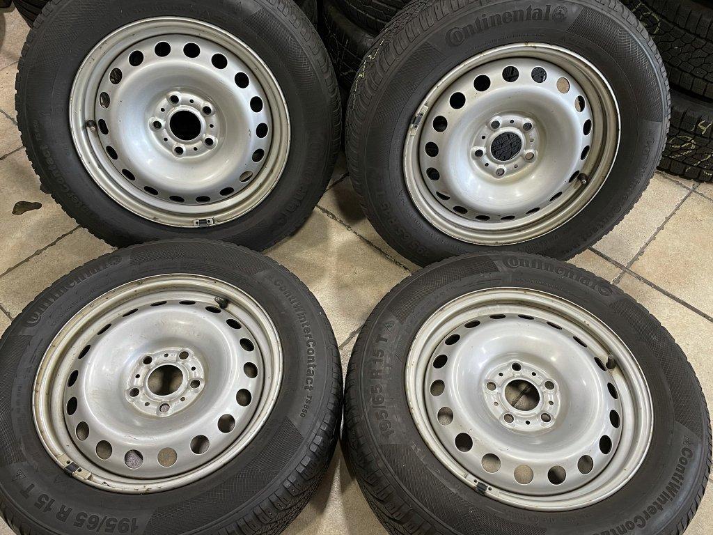 Zimní sada 5x108 Renautl Kangoo/Mercedes Citan 195/65 R15