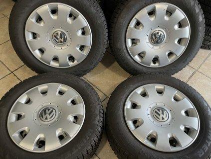 Zimní sada 5x112 original Volkswagen 195/65 R15