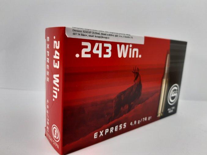 Geco Express .243 Win. 4,9g
