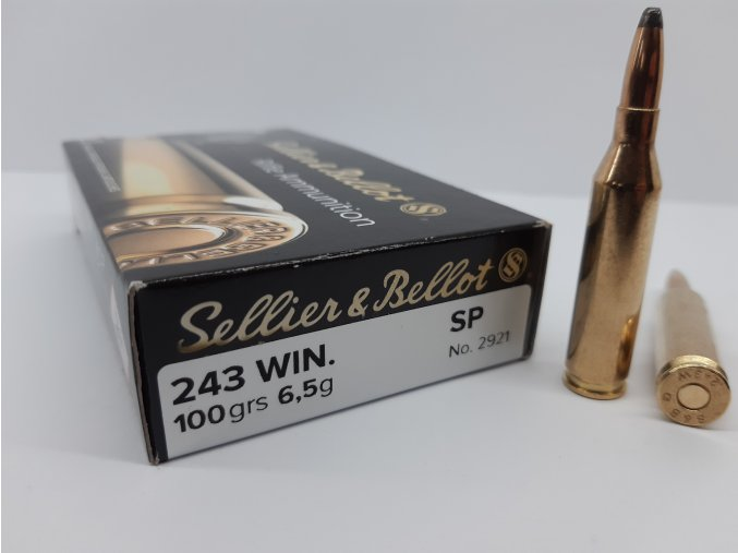 S&B 243 Win. SP 6,5g (20ks) 21,7Kč/ks