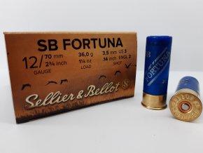S&B Brok.náboj 12/70/3,5 Fortuna (25ks.)