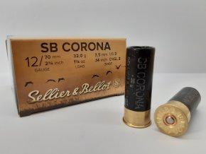 S&B Brok.náboj 12/70/3(3,5) Corona (25ks.)
