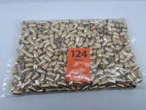 Střela 9mm FMJ 124gr (500ks)