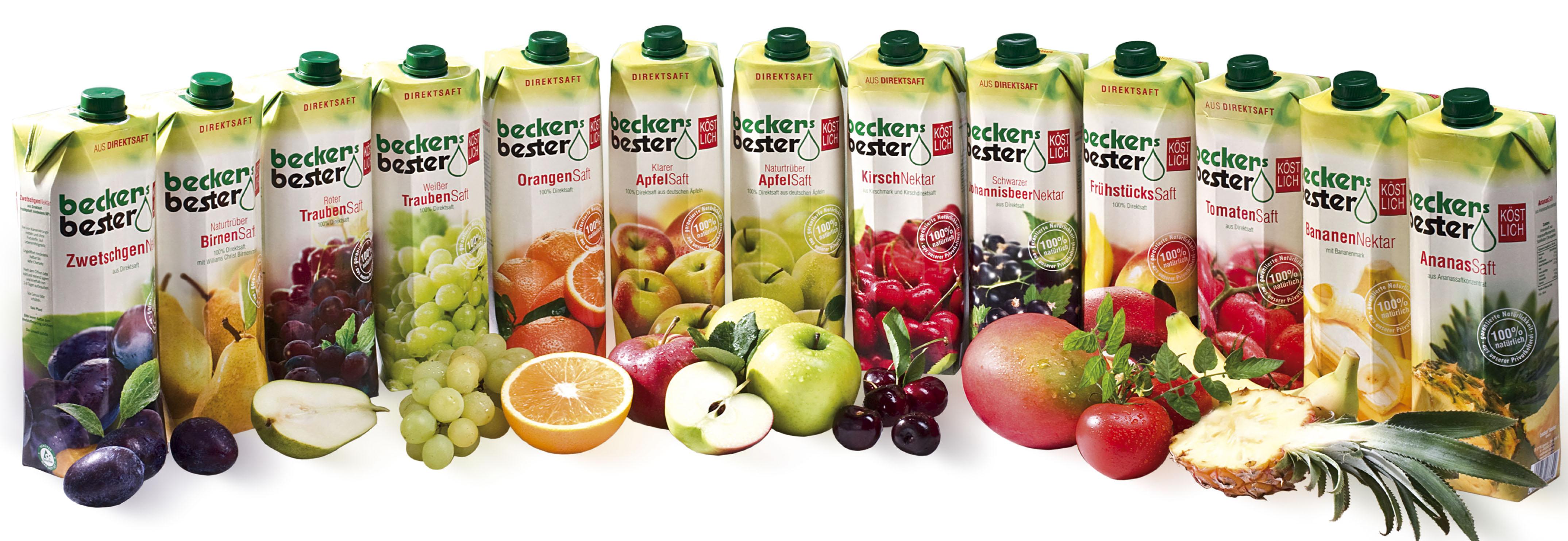 Vynikající ovocné šťávy lisované přímo z čerstvého ovoce