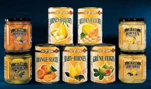 konzervované ovoce