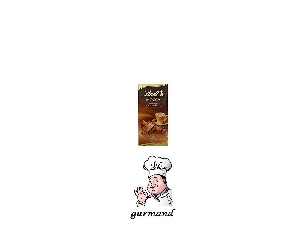 Lindt Mocca Mléčná čokoláda s mokka krémem 52% 100g