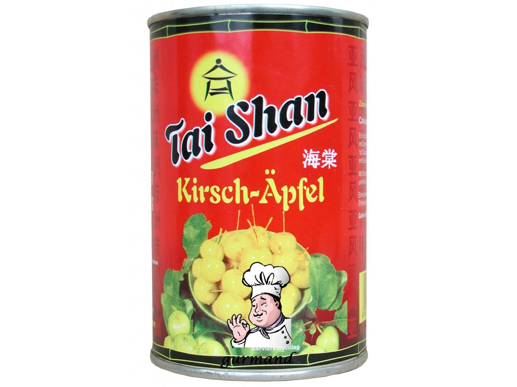 Tai Shan  Baby jablíčka se stopkou v nálevu 425/213g
