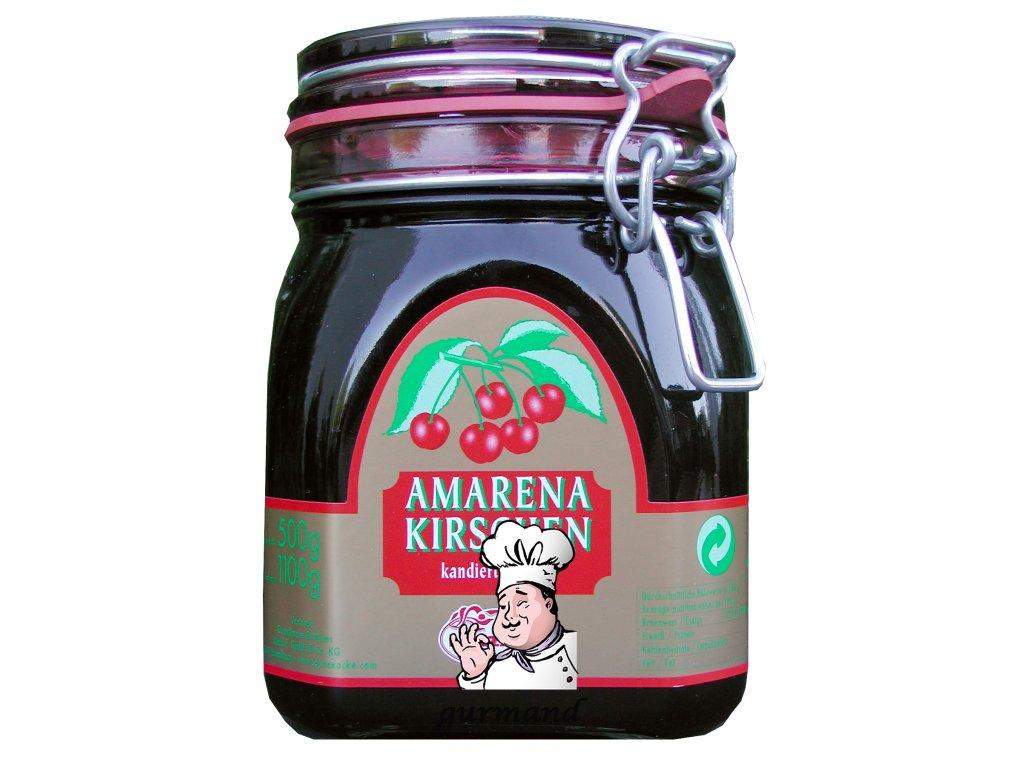 Lazzaris Třešně Amarena bez pecky v sirupu 1100/500g