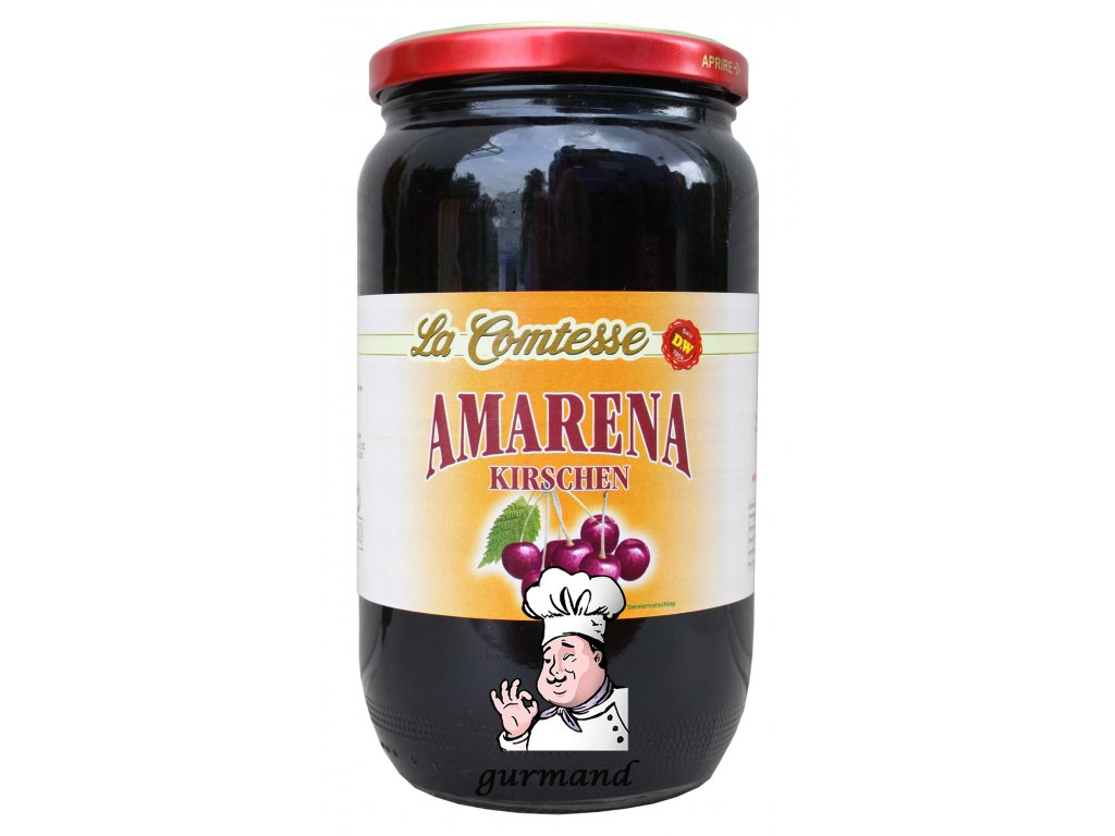 La Comtesse Třešně Amarena bez pecky v sirupu 1000/600g