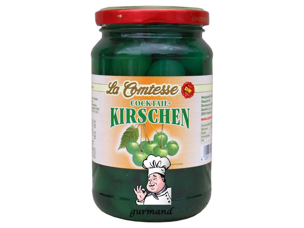 La Comtesse Třešně koktejlové zelené bez stopky 390/210g