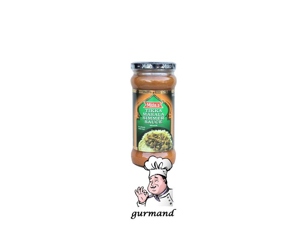 Mida's  Tikka Masala Simmer Sauce 370g