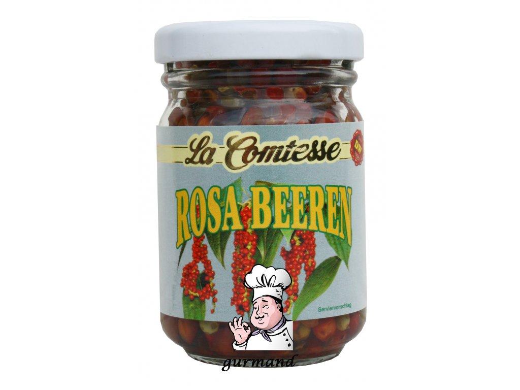 La Comtesse  Červený pepř (Rosa Beeren) v octu 70/45g