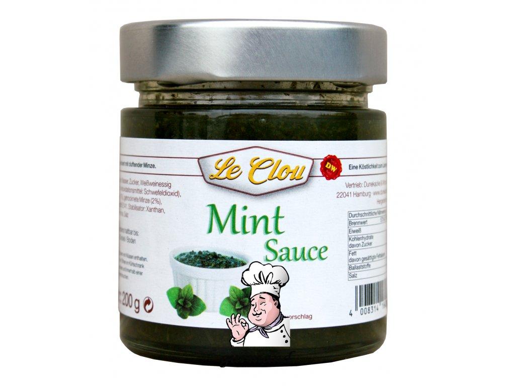 Le Clou  Mátová omáčka (Mint Sauce) 200ml