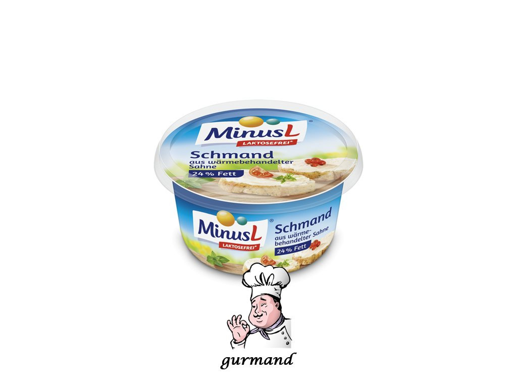 MinusL Schmand zakysaná smetana 24% tuku 150g
