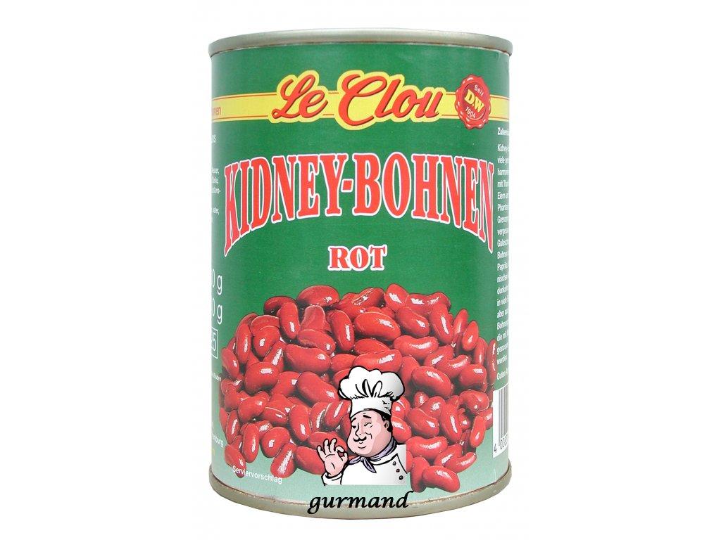 Le Clou  Fazole červené Kidney 400/240g