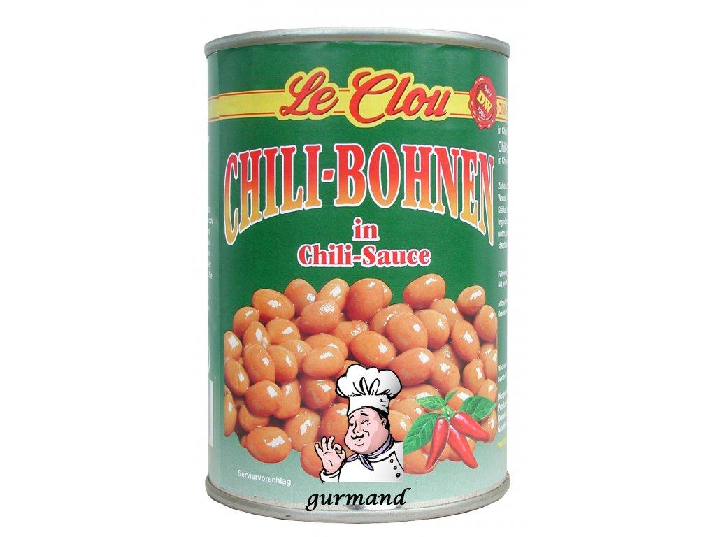 Le Clou Chili fazole v chili omáčce 400/240g