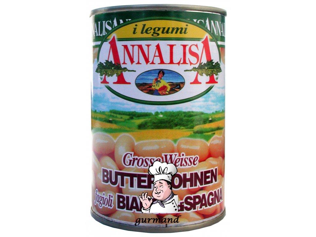 Annalisa   Bílé velké fazole v nálevu 400/240g