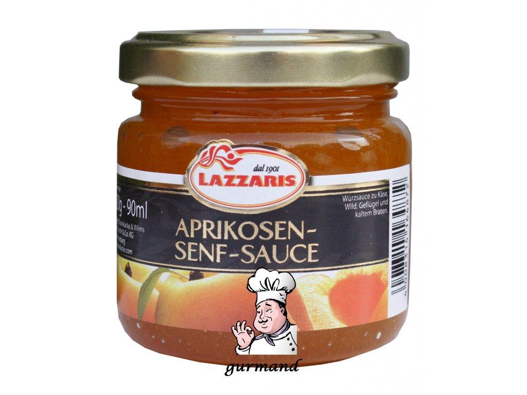 Lazzaris meruňková hořčice 120g
