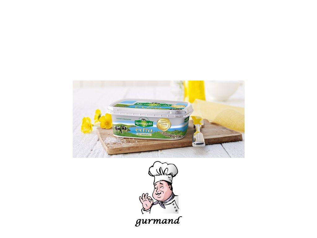 Kerrygold extra Irské máslo s přídavkem řepkového oleje a mořské soli 250g