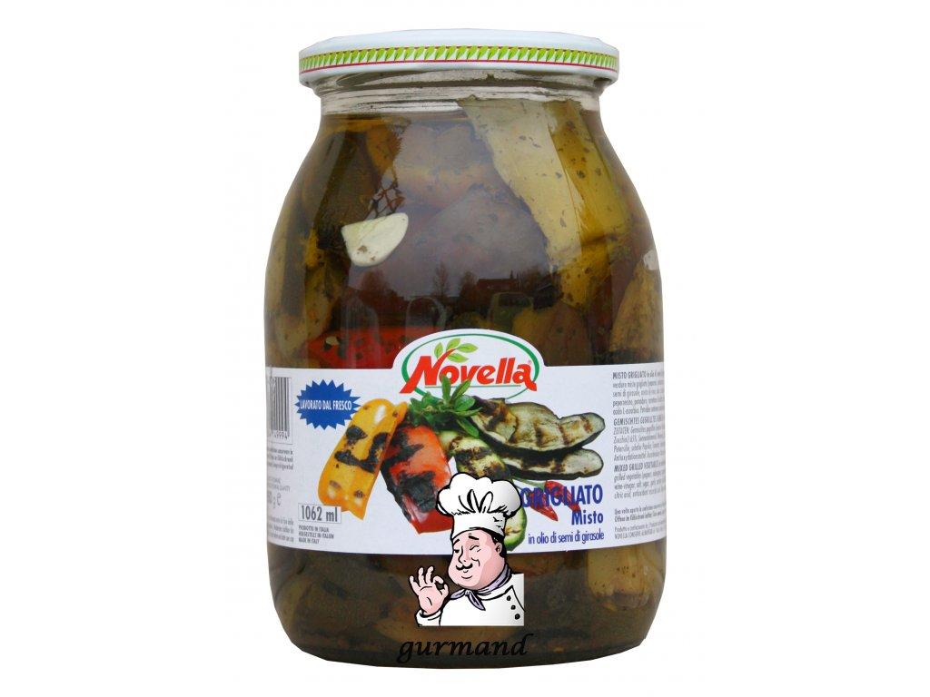 Zelenina grilovaná ve slunečnicovém oleji 1062ml